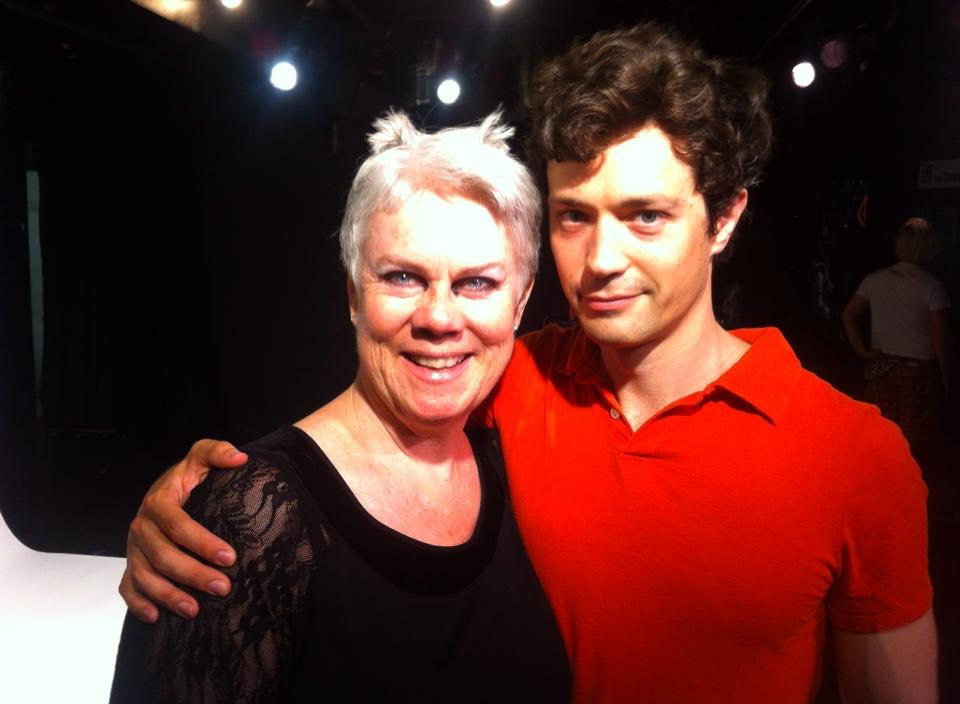 Sheilagh Weymouth as PUMA with director Christian Coulson